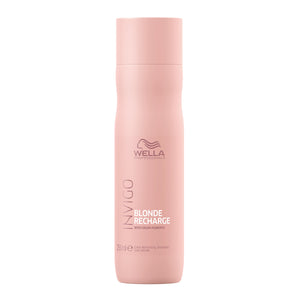 Wella Professionals Invigo Blonde Recharge Cool Blonde Color Refreshing Shampoo 250ml