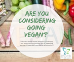 Who is wanting to go vegan or a plant based diet? Everyone is going vegan! you may want to reconsider before you change your diet?