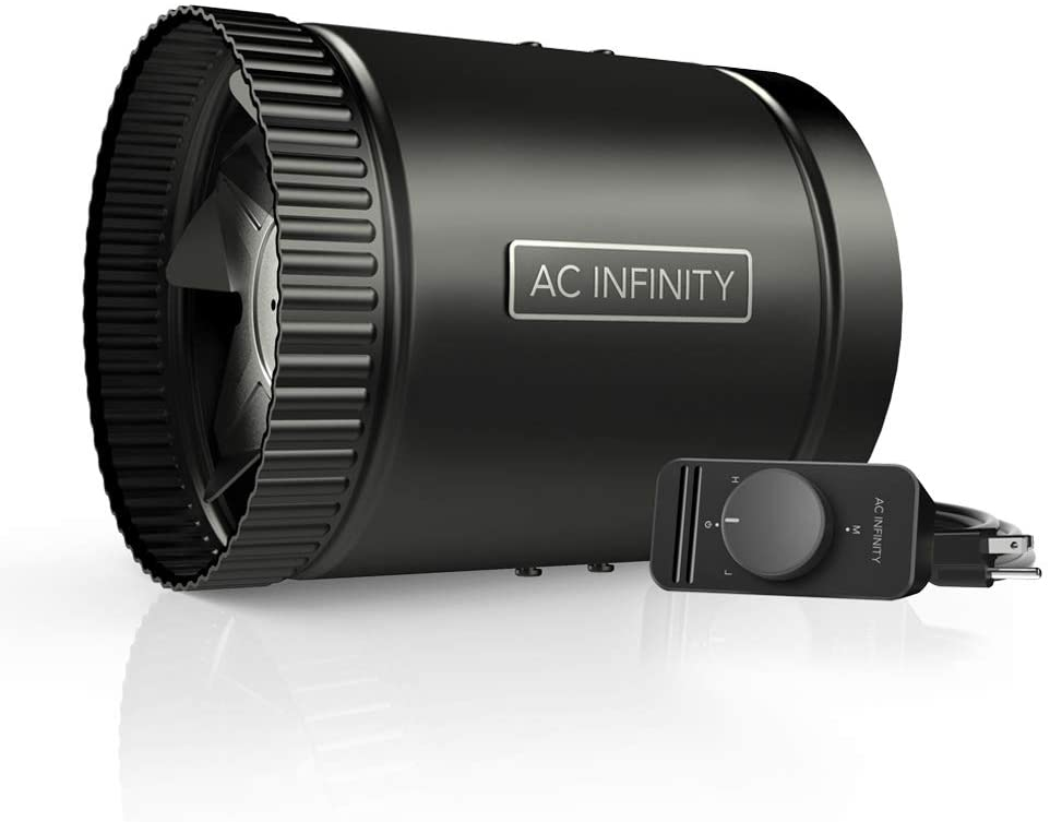 AC Infinity Booster Duct Fan 6""