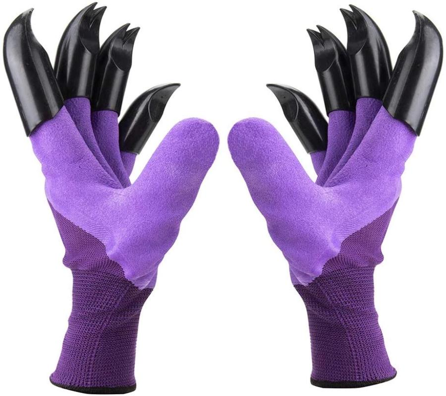 Rubber Gloves With Claws