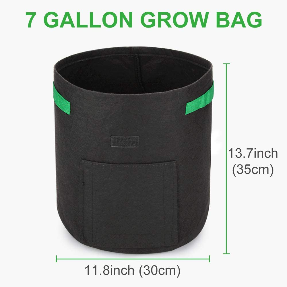 Premium Potato Grow Bags Black