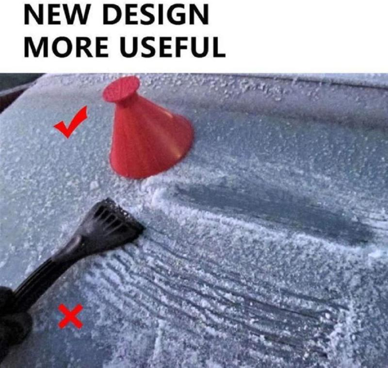 Cone Shaped Ice Scraper