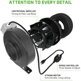 Complete Ventilation Kit 8""
