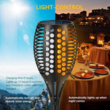 Flickering Flames Solar Light