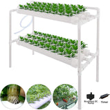 Hydroponic NFT Plant Growing System