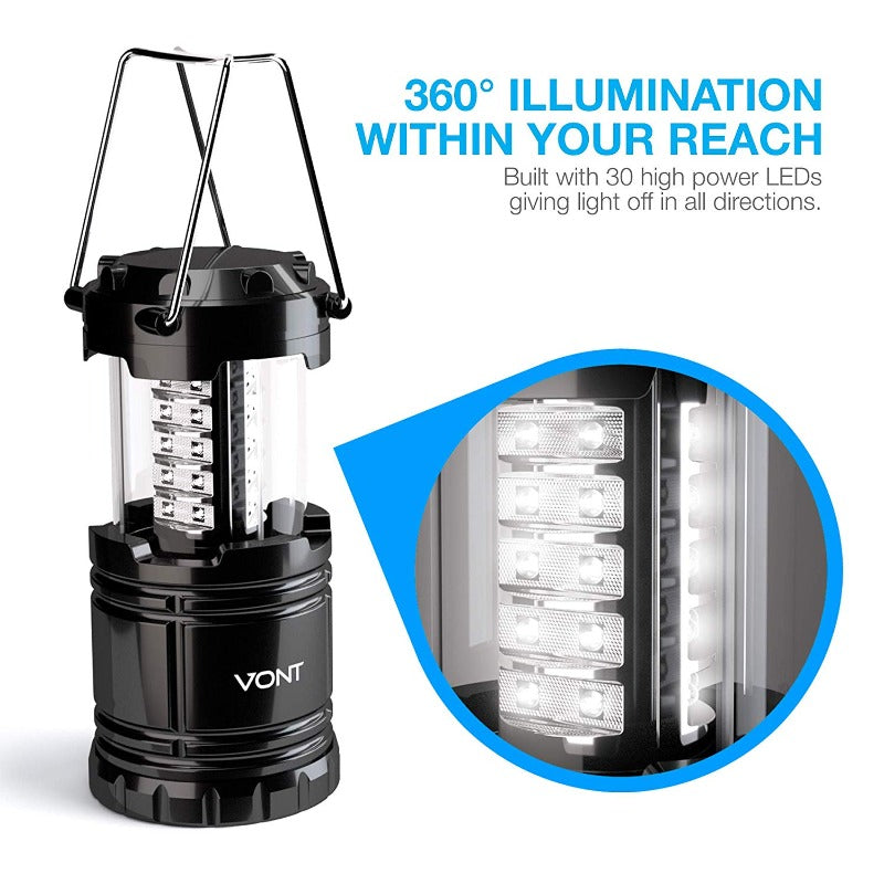 Outdoor Collapsible LED Lantern