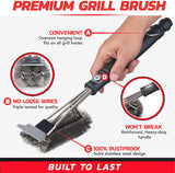Stainless Steel Grill Brush
