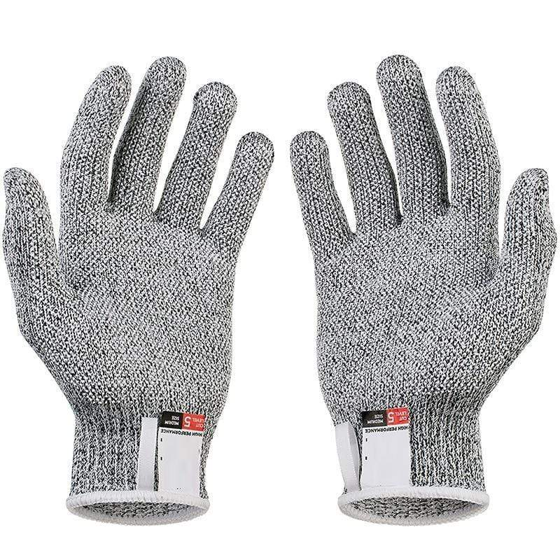 Amazing Garden Gray / M Cut Resistant Safety Gloves