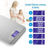 Amazing Garden High Accuracy Digital Kitchen Scale 5kg/ 10kg