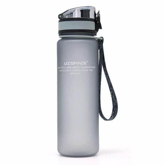 Amazing Garden 650ml / Gray Leakproof Garden/Sport Water Bottle