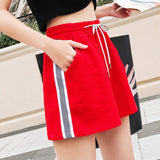 Straight Striped Short