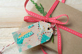 Art Christmas Gift Tags
