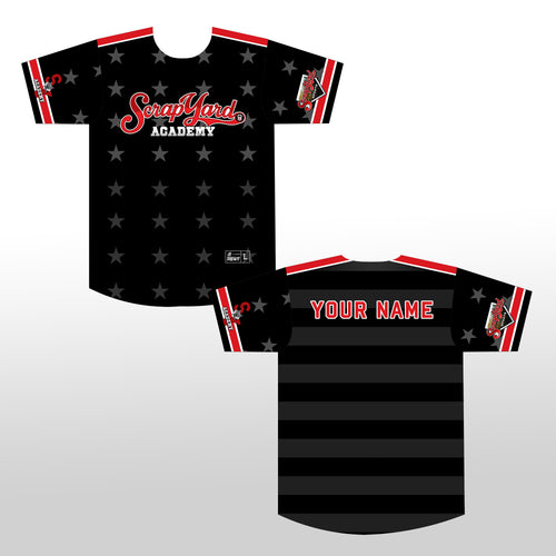 SYA Custom Jersey Black