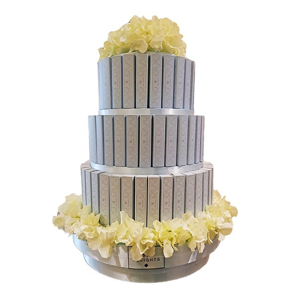 3 Layer Eclair Round Tower - Wedding Delights W.L.L
