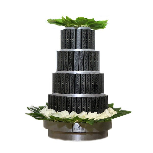 4 Layer Eclair Round Tower - Wedding Delights W.L.L