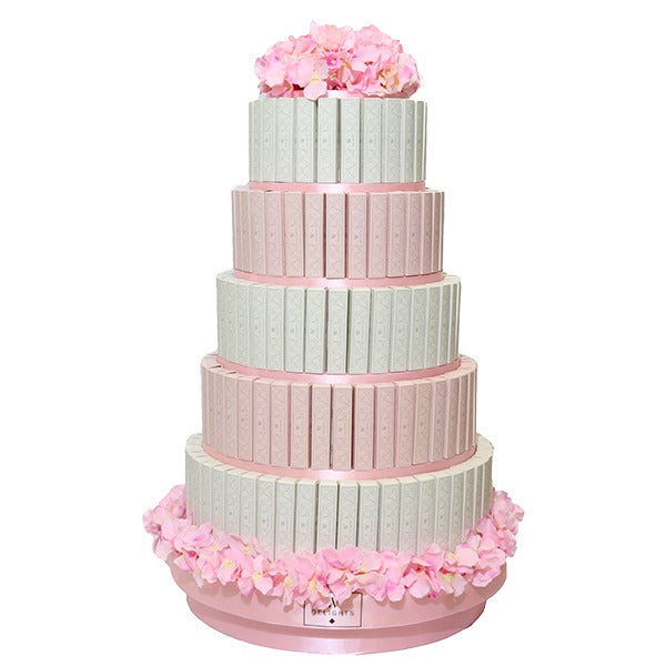 5 Layer Eclair Round Tower - Wedding Delights W.L.L