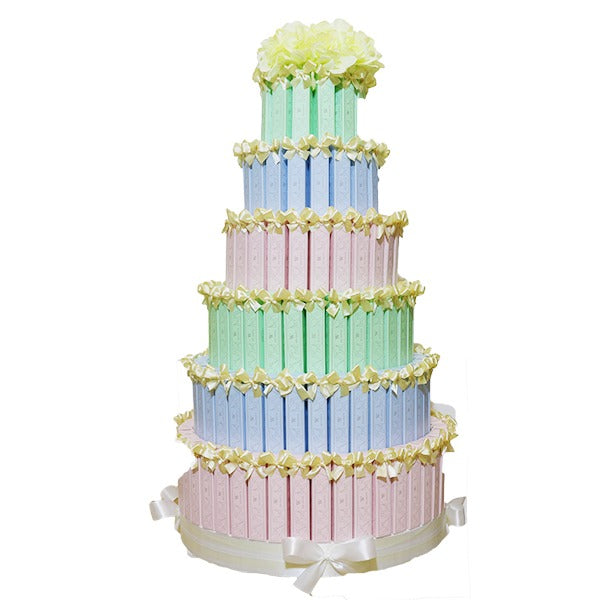 6 Layer Eclair Round Tower - Wedding Delights W.L.L