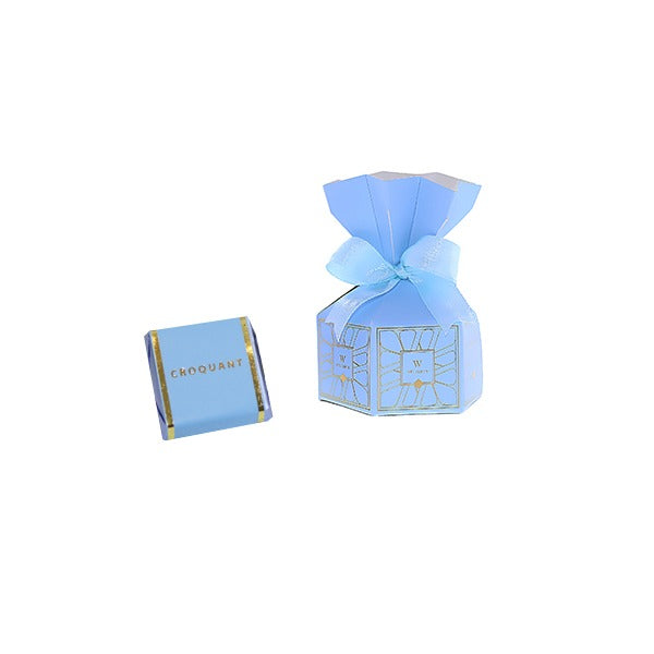 Flower Giveaway Box Square Chocolate - Wedding Delights W.L.L