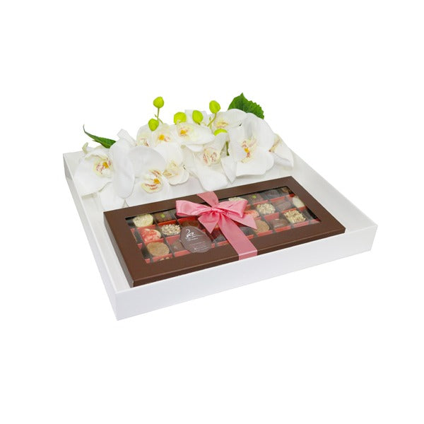 Floral Petit Trays - White