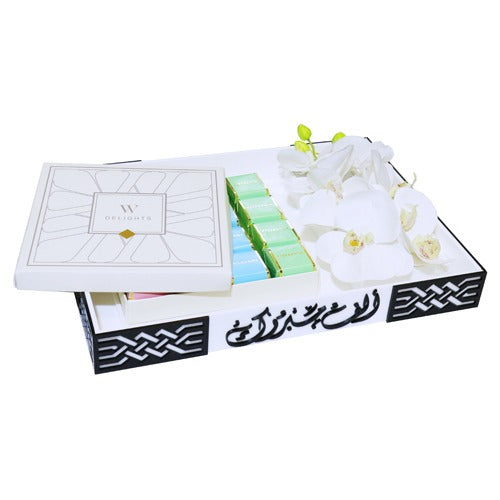 Square Chocolate Gift Box - Wedding Delights W.L.L