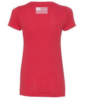 Womens Awesome Red Tee