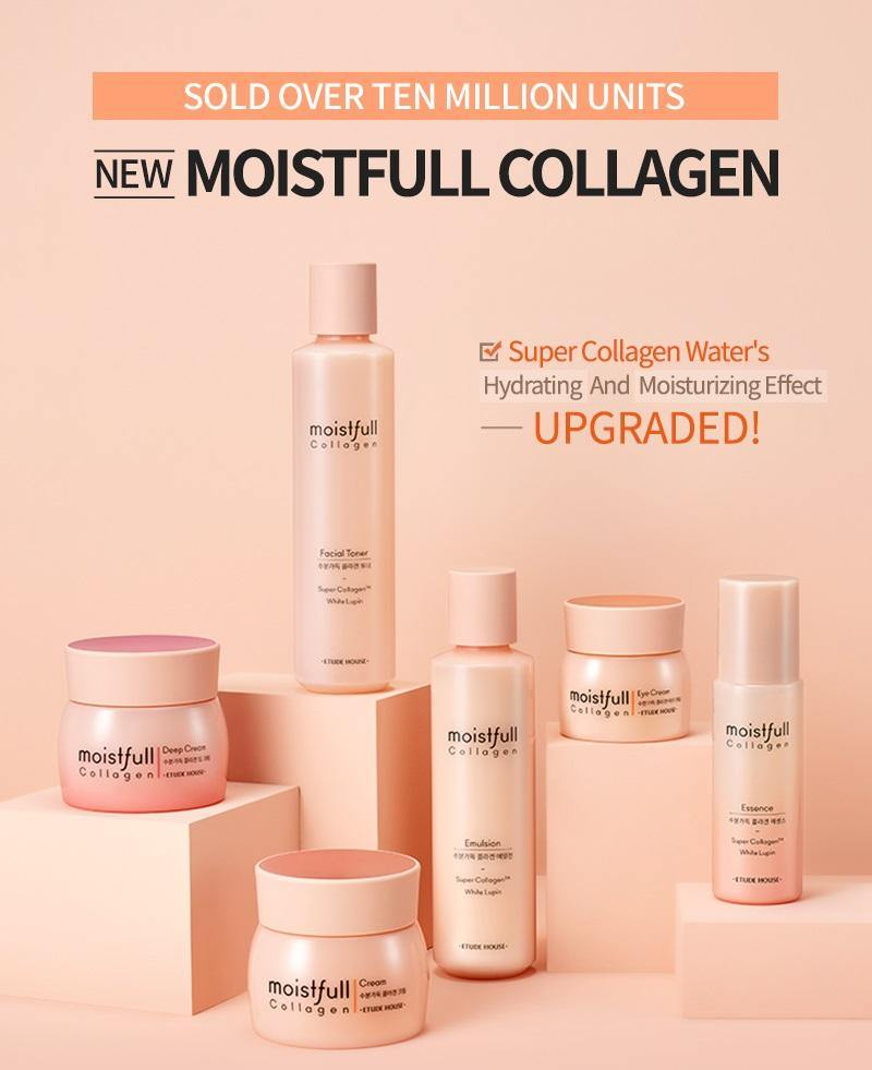 Etude House Moistfull Collagen Emulsion (Renewed) - Olive Kollection