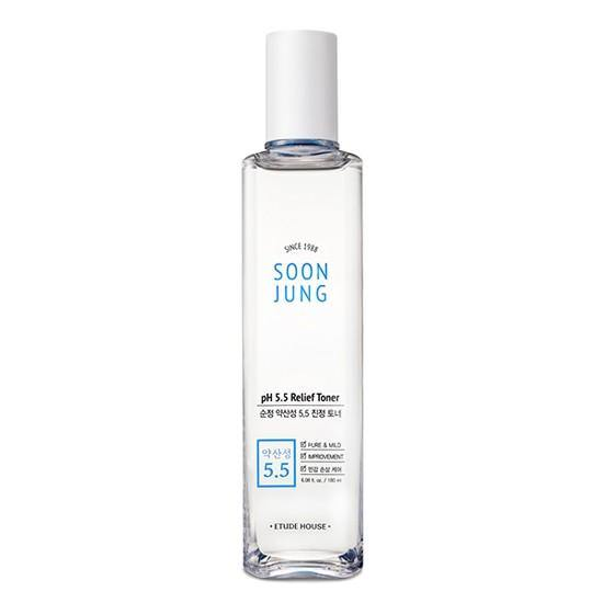 Etude House Soon Jung pH 5.5 Relief Toner - Olive Kollection
