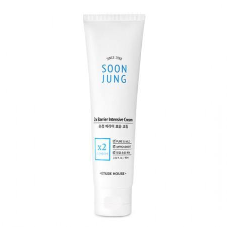 Etude House Soon Jung 2x Barrier Intensive Cream - Olive Kollection