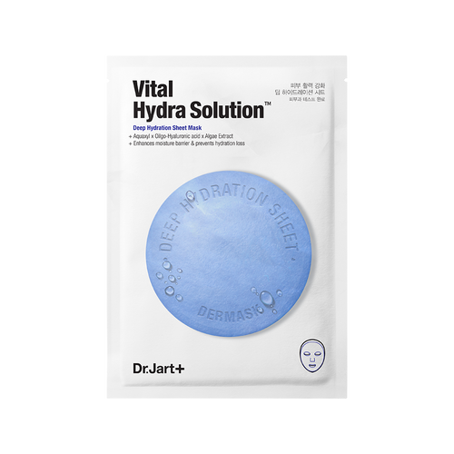 Dr. Jart Vital Hydra Solution Deep Hydration Sheet Mask - Olive Kollection