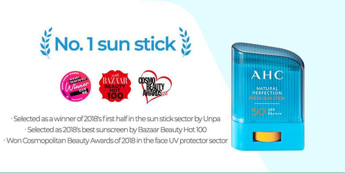 AHC Natural Perfection Double Shield Sun Stick 14g
