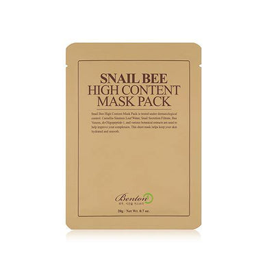 Benton Snail Bee High Content Mask Pack (1 Sheet)