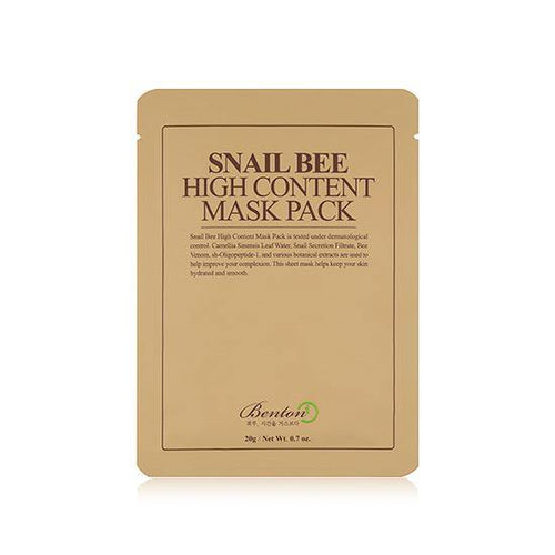 Benton Snail Bee High Content Mask Pack (1 Sheet) - Olive Kollection