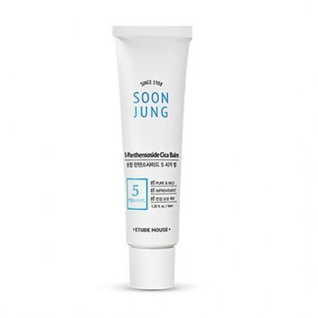 Etude House Soon Jung 5-Panthensoside Cica Balm - Olive Kollection