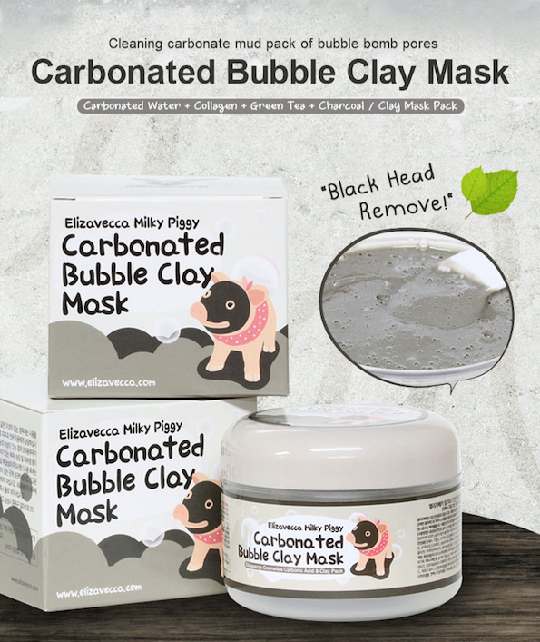 Elizavecca Carbonated Bubble Clay Mask - Olive Kollection