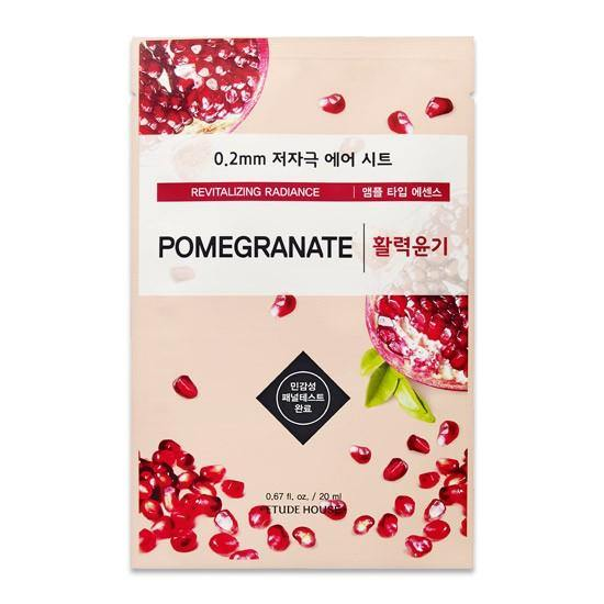 Etude House 0.2 Therapy Air Mask - Pomegranate - Olive Kollection