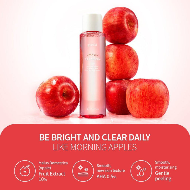 Goodal Apple AHA Clearing Toner - Olive Kollection