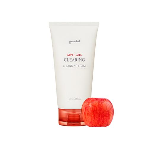 Goodal Apple AHA Clearing Cleansing Foam - Olive Kollection