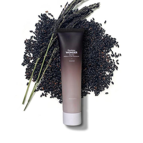 Haruharu Black Rice Moisture 5.5 Soft Cleansing Gel - Olive Kollection