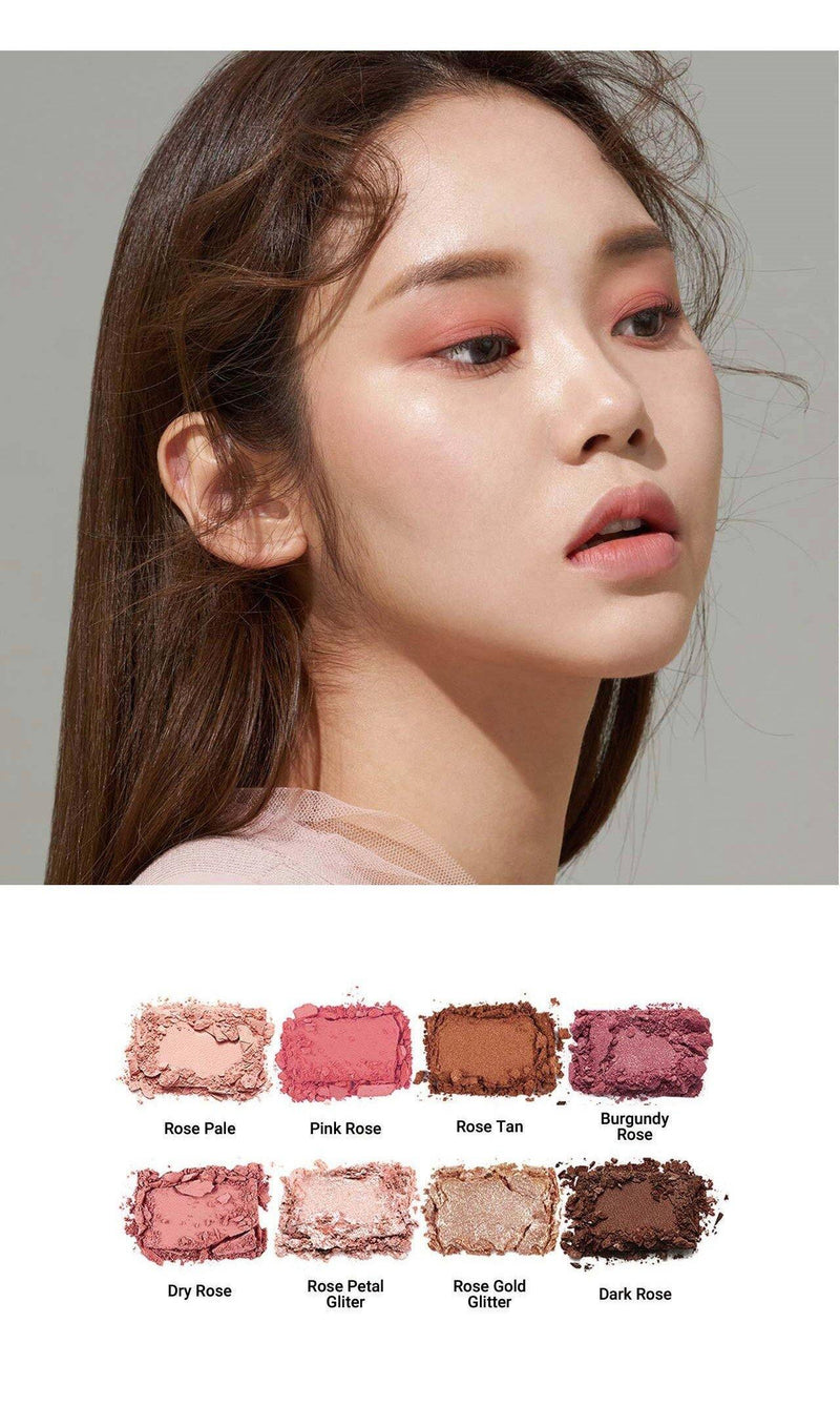 Heimish Dailyism Eye Palette Rose Memory - Olive Kollection
