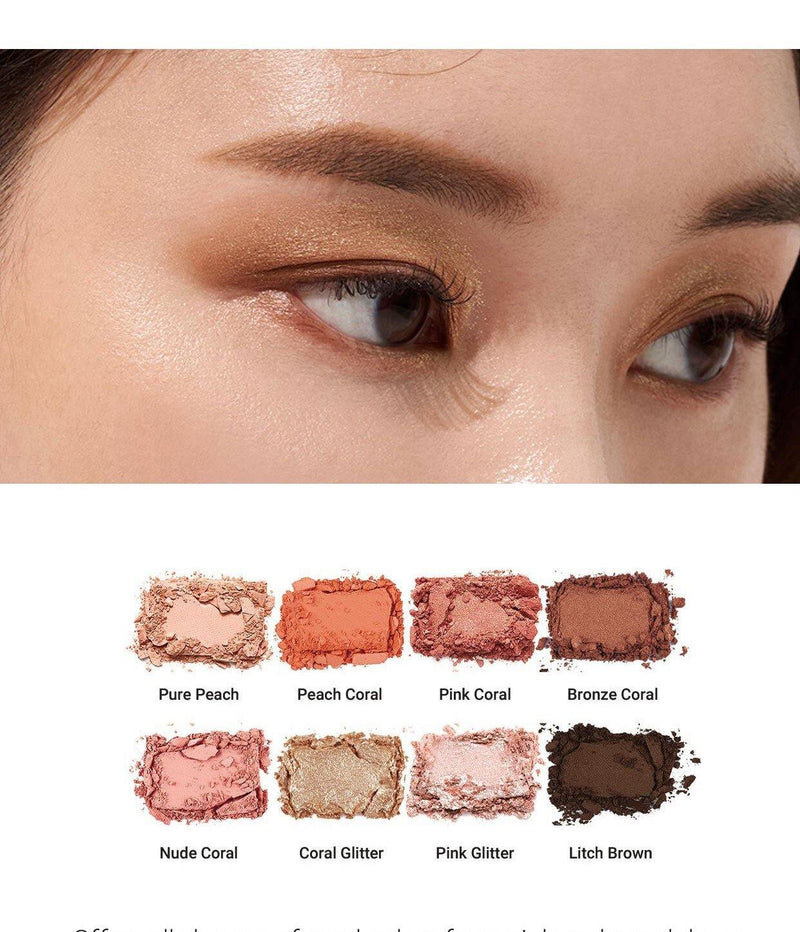 Heimish Dailyism Eye Palette Coral Essay - Olive Kollection