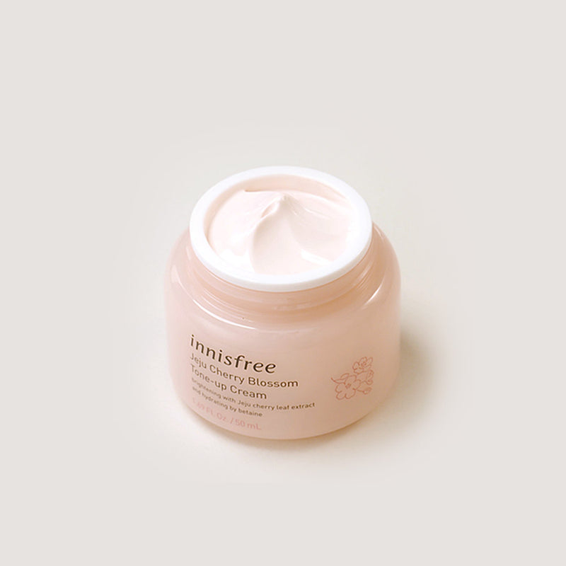 Innisfree Dewy Glow Tone-up Cream with Jeju Cherry Blossom - Olive Kollection