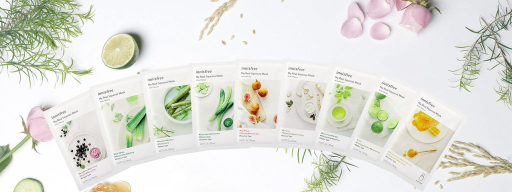 Innisfree My Real Squeeze Mask EX - Olive Kollection