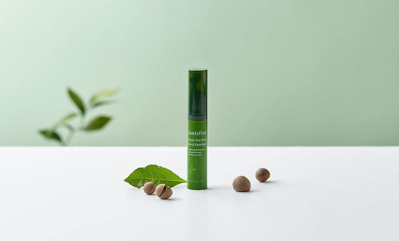 Innisfree Green Tea Seed Eye & Face Ball - Olive Kollection