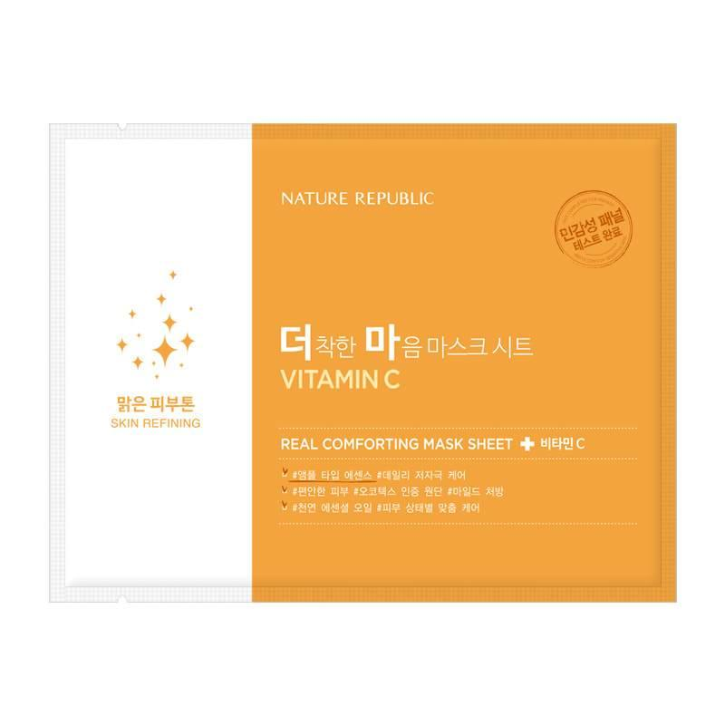 Nature Republic Real Comforting Mask Vitamin C - Olive Kollection