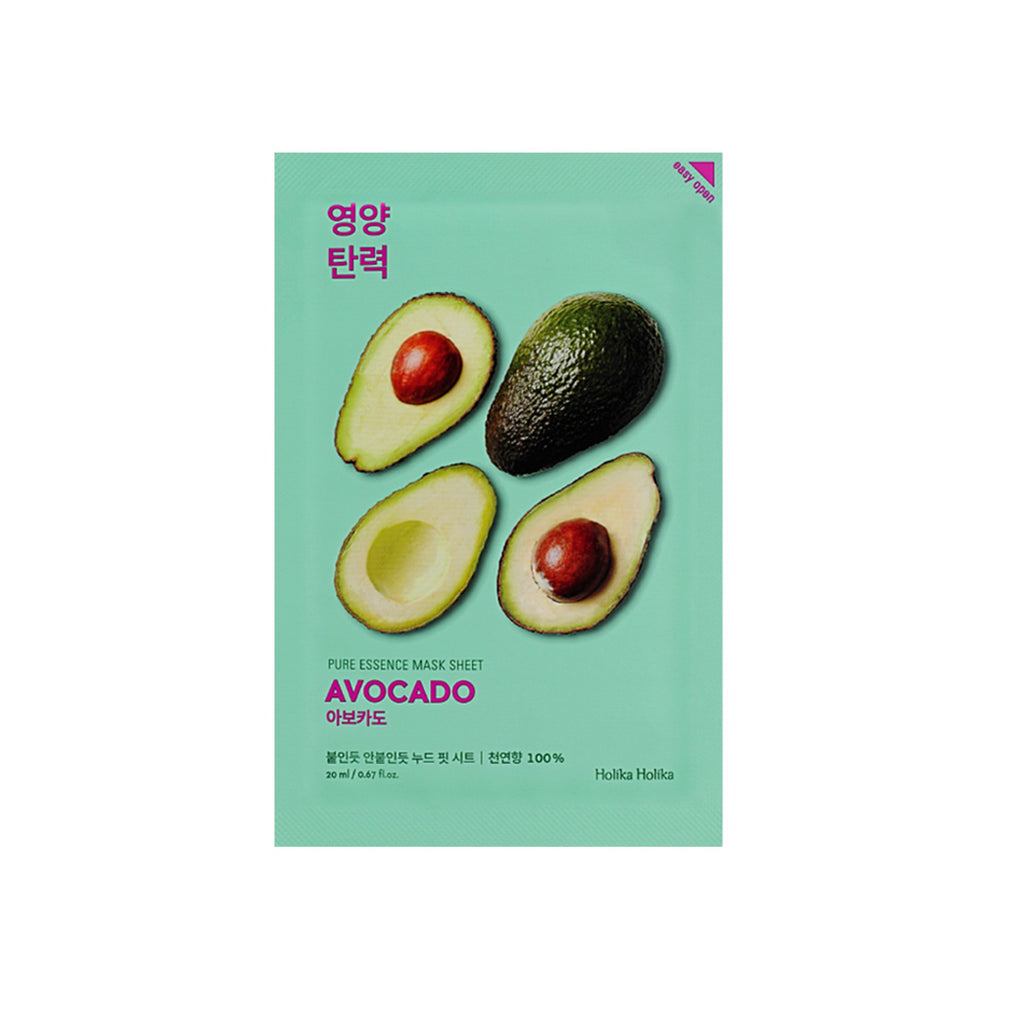 Holika Holika Pure Essence Mask Sheet Avocado - Olive Kollection