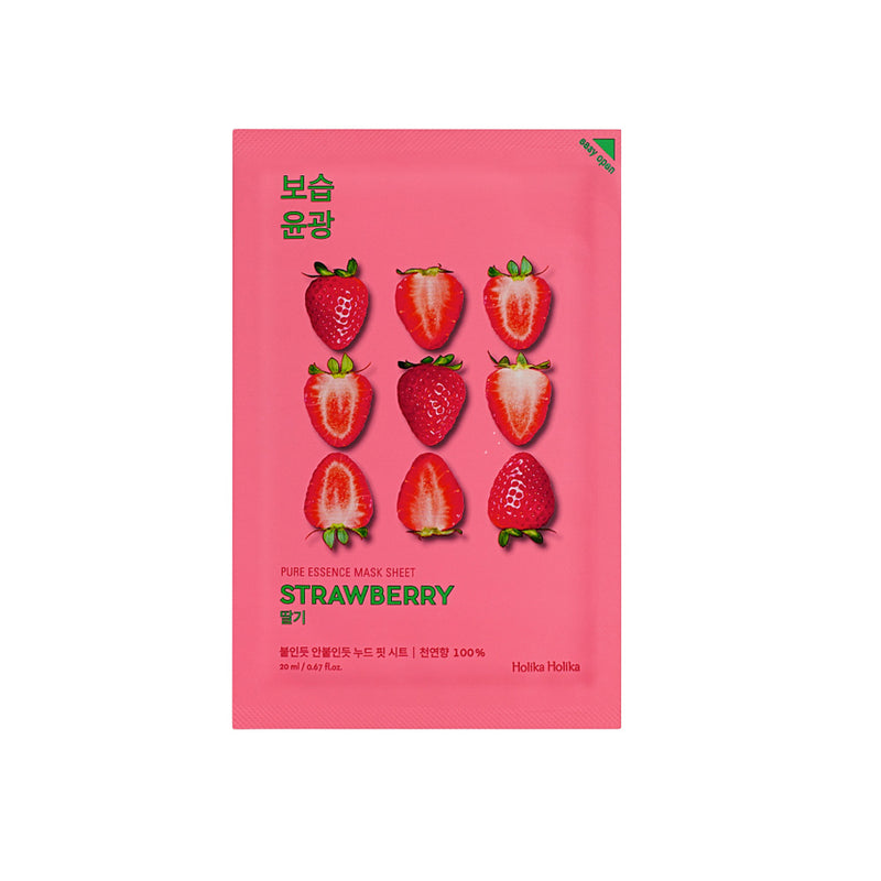 Holika Holika Pure Essence Mask Sheet Strawberry - Olive Kollection