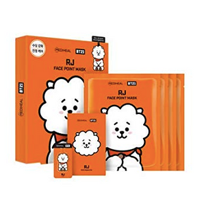 Mediheal BT21 BTS x Face Point Mask (Box - 4 Sheets) - Olive Kollection