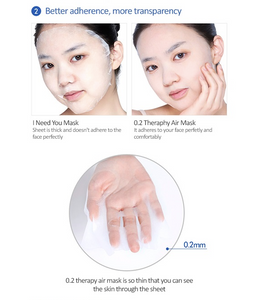 Etude House 0.2 Therapy Air Mask - Madecassoside - Olive Kollection