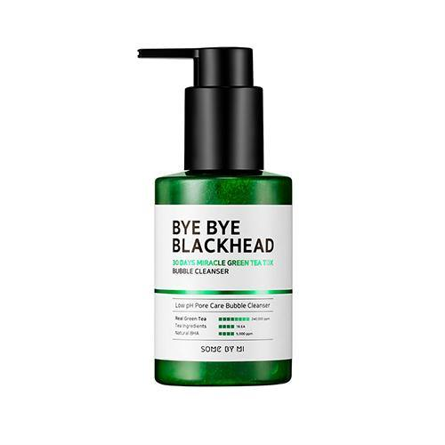Some By Mi Bye Bye Blackhead 30Days Miracle Green Tea Tox Bubble Cleanser - Olive Kollection