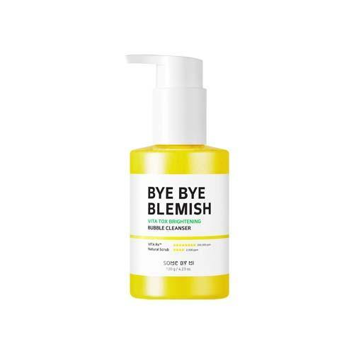 Some By Mi Bye Bye Blemish Vita Tox Brightening Bubble Cleanser - Olive Kollection